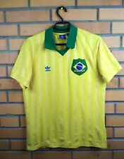 Brazil Brasil vintage retro replica jersey medium shirt soccer football Adidas
