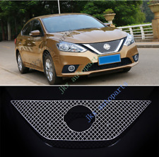 Honeycomb Mesh Front Bumper Vent Grille Grill For Nissan Sentra/Sylphy 2016-19