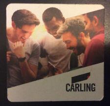 CARLING beermat; new