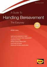 Guide to Handling Bereavement, A by Adrian Lewis Paperback Book The Cheap Fast