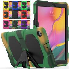 Tough Silicone Case Screen Protector For Samsung Galaxy Tab A 7 8 9.7 10.1 10.5