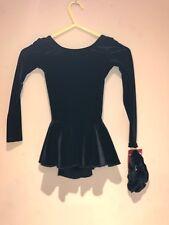 Mondor Skating Dress Black 2850 Size Age 4-6