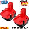2X BAT043 12V AKKU Für Bosch BAT045 BAT049 PSR 12VE-2 GSB 12 VE-2 BAT120 BAT046