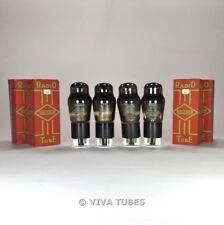 True NOS NIB Matched Quad (4) Brimar England - 6V6G Smoked Vacuum Tubes