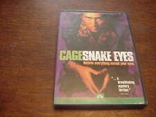 Snake Eyes (Dvd, 1999, Sensormatic) Nicholas Cage, Gary Sinise, John Heard