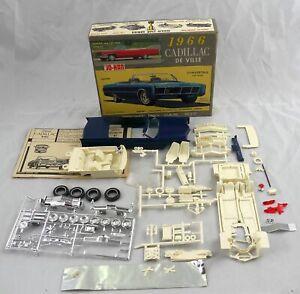 Jo-Han 1966 Cadillac De Ville Convertible Model Car Kit  1/25  C-1766:149