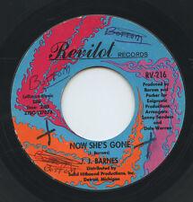 Hear- Rare Northern Soul 45- J.J. Barnes- Now She's Gone- Revilot Records # 216