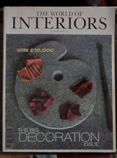 World of Interiors Magazine October 1998