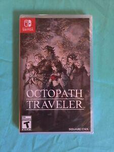 Octopath Traveler (Switch, 2018) BRAND NEW SEALED