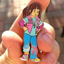 Punky Brewster Power 80's TV Show Cartoon Hat Jacket Tie Tack Lapel Pin