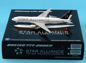 JC Wings 1:400 Asiana Airlines Boeing 777-200ER Diecast Aircraft Model HL7732