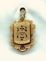 Antique Victorian 14k  Gold  Locket Enameled Pill Box? Early VICTORIAN locket