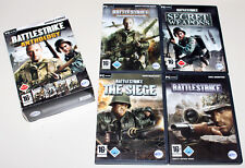 4 PC Jeux Set-BATTLESTRIKE Anthology-victoires Secret Weapons Call to Victory