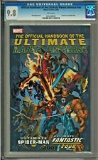 Official Handbook of the Ultimate Marvel Universe #nn CGC 9.8 Fantastic Four