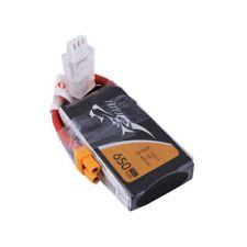 TATTU 650mAh 2S1P 75C 7.4V Lipo Battery Pack with XT30