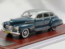 GiM 020a 1941 Cadillac Series 63 Touring Sedan Blue met. 1:43 Limited 150 pcs..
