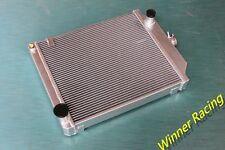 Aluminum Radiator Fit JAGUAR MK 7 8 9 MARK VII/VIII/IX W/CHEVY V8 M/T 1950-1961