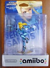 Zero Suit Samus Amiibo Super Smash Bros Nintendo Switch Wii U 3DS *NEW*