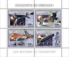 Conquest of Space I Apollo 11 15 Moon Satellites Shuttle ms Congo DR MNH CDR0720