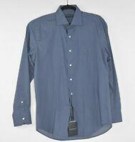 NEW PETER MILLAR Mens Collection Sport Shirt L/S Button-Down Mens Size M / Blue