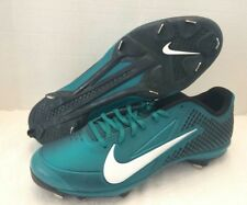 Nike Zoom Vapor Elite Low Baseball Metal Cleats Shoes green 538553-310 Size 12.5