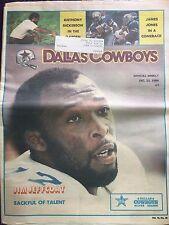 """"""" NFL Dallas Cowboys Official Weekly Magazine December, 22, 1984; Vol. 10, No.28"""
