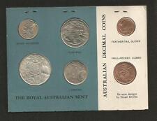 1966 MINT SET - *BLUE CARD* - ROYAL AUSTRALIAN MINT - UNCIRCULATED