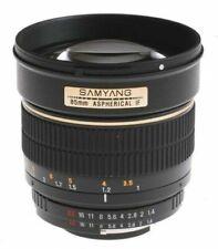 Objectifs Samyang 85mm pour appareil photo et caméscope