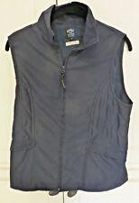 Callaway Ladies Golf Apparel by Nordstrom SZ Med Peached MicroFiber Navy Vest