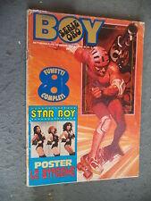 BOY MUSIC # 45 - 12 NOVEMBRE 1978 - LE STREGHE - 8 FUMETTI COMPLETI