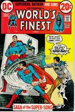 WORLD'S FINEST 215 INTRODUCTION OF BATMAN JR. AND SUPERMAN JR. - VF