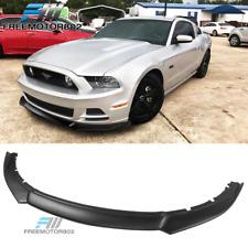 Fit 13-14 Mustang V6 V8 GT Front Bumper Lip PP Spoiler Chin
