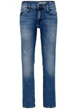 Mustang Oregon Straight Leg Herren Jeans, W28 -to- W40 / Heavy Used Wash