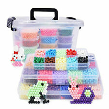 2000pcs of Refill for Aquabeads and Beados Art Crafts 10 Assorted Colors