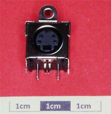4P R/A Mini DIN PCB Mtg SVHS