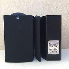 Black Pair Of KEF Bookshelf Speakers - Q Series Q Compact