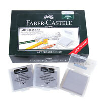 2pcs Faber-Castell Kneadable Drawing Rubber Eraser Pencils Graphic Sketch 7220