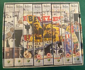THE BEATLES Anthology 1996 Complete x8 VHS Box Set