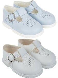 BAYPODS Baby Boys Matte T-Bar Hard Soled First Walker Christening Wedding Shoes