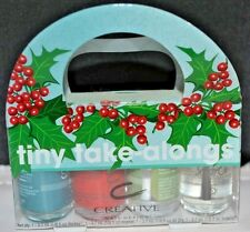 Creative Nail Design Tiny Take-Alongs  4 piece set