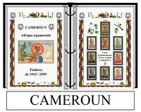 Album de timbres à imprimer  CAMEROUN