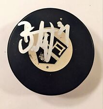 Peter Budaj Signed Auto Autographed Official Puck COA Los Angeles Kings
