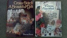 Two Hardback Cross Stitch Books