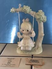 """Precious Moments """"My Warmest Thoughts Are You� Figurine—7� ~ w/card —No Box"""