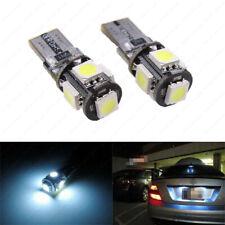 Bright White 5-SMD Error Free LED Bulbs For European Car Parking Eyelid Lights