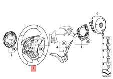 Genuine BMW M6 E60 E63 E64 M5 M Sports Steering-wheel Leather 32342283933