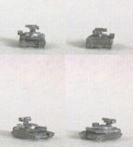 NEW BATTLETECH RAL PARTHA Mini BT 779 MANTICORE HEAVY TANK (2) 60 Tons TR 3058