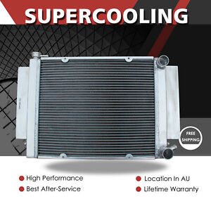 Aluminum Radiator For Mazda RX2 RX3 RX4 RX5 RX7 S1 S2 MT 69-83 With Heater Pipe