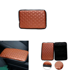Universal Car Armrest Pad Covers Console Center Brown Protection For All Car