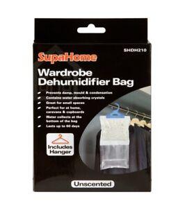 NEW SUPAHOME WARDROBE DEHUMIDIFIER BAG SHDH210
